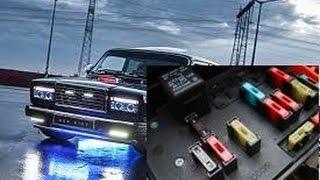 видео Схема электрооборудования ВАЗ 2107, 21074