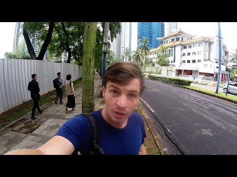 Where On Earth Is The Embassy?? - Jakarta Vlog
