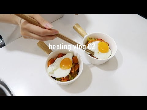 healing-vlog.02:-cooking-spicy-buckwheat-noodle,-blueberry-limeade,-rose-mansion-cafe-|-q2han