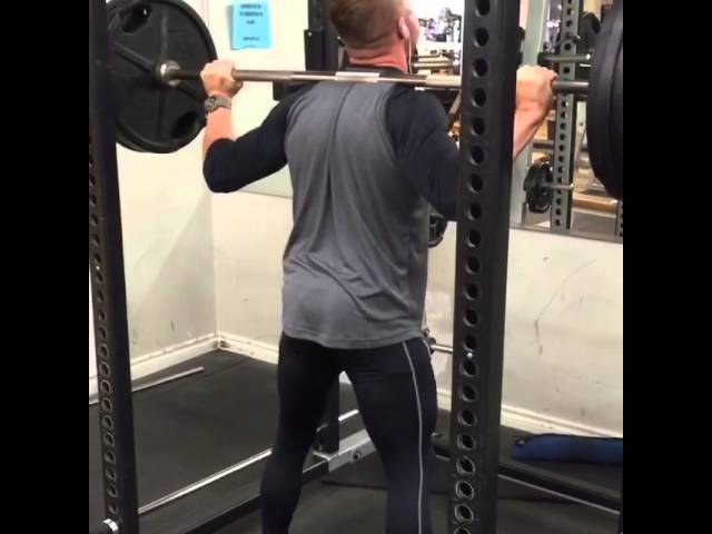 Deep squats with proper form.