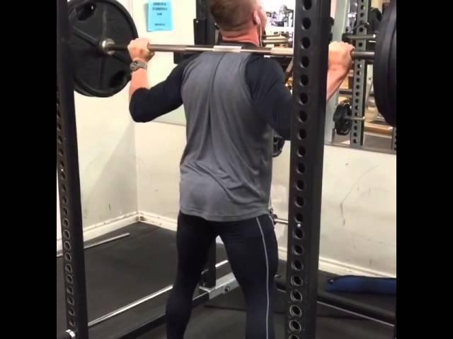 Deep squats with proper form.