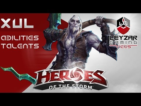 Heroes Of The Storm (HotS News) - Xul Abilities & Talents & Release Date (Slideshow)