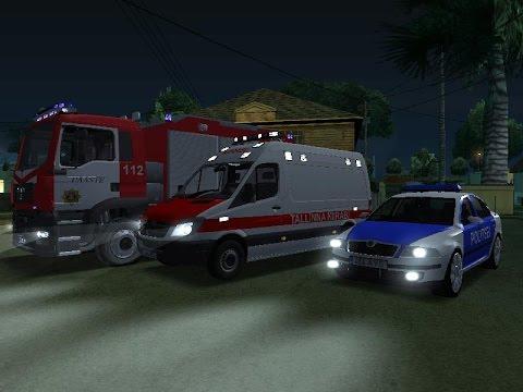 GTA San Andreas Eesti modid + LINK politseikiirabituletõrje