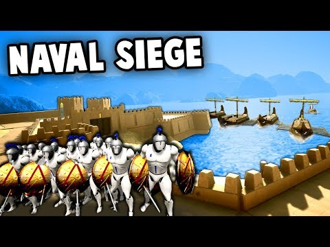 NAVAL SIEGE turns absolute DISASTER!  Siege of Tyre (Formata Ships Update Gameplay)