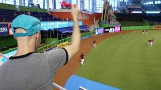 Bad luck at Marlins Park