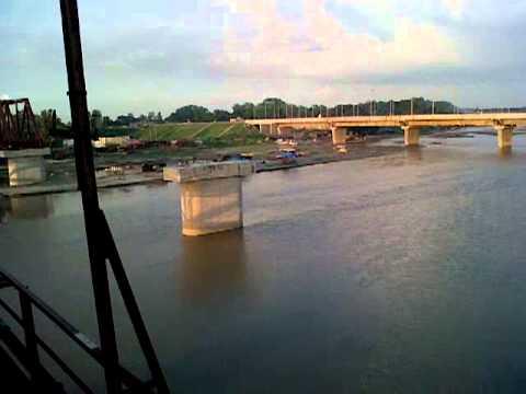 15316 Gokul Express Passing from Kachhla Bridge