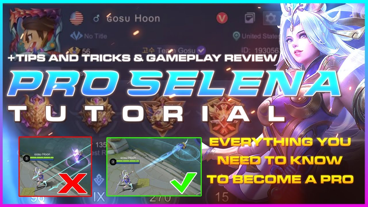 How to play Selena like a pro by Gosu Hoon | MLBB