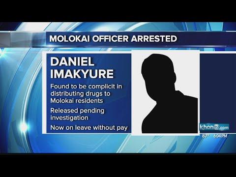 Maui Police Officer Arrested For Drug Offenses
