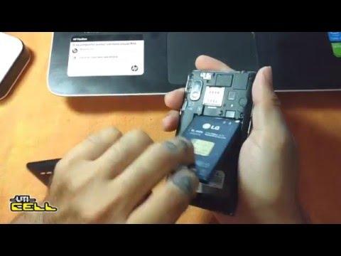 Corrigindo problema de Hard Reset no LG L5 E615 (Instalação de Rom) #UTICell