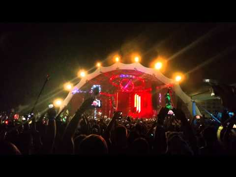Skrillex Red Lips Live @ Sunset Music Festival 2015 - Tampa