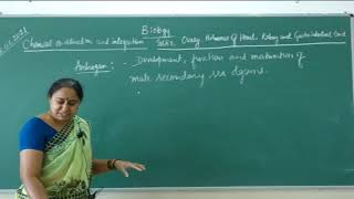 I PUC| Biology| Chemical coordination and integration - 05