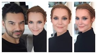 """""""SCANDAL"""" Star Darby Stanchfield's Make Up Look by Celebrity Makeup Artist Ermahn Ospina using NARS"""