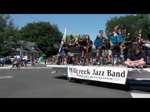 Millcreek Junior High School - West Bountiful Parade 2017