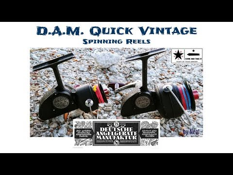 Vintage DAM Quick Reel Overview & Review -  Over Built German Fishing Reels