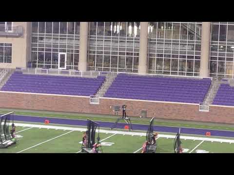 Crossmen Drum Major loses her head
