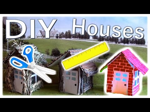 DIY Houses! | From The Big Bad Wolf Skit