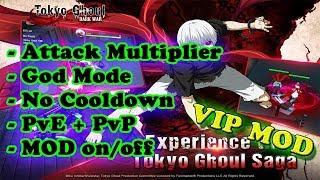 Tokyo Ghoul Dark War Ver. 1.2.5 MOD APK | Attack Multiplier | God Mode | No Skill Cooldown | PvP |