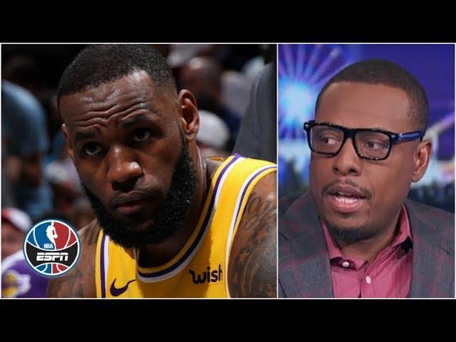Lakers should shut LeBron James down for season, focus on 2019-20 - Paul Pierce | The Jump
