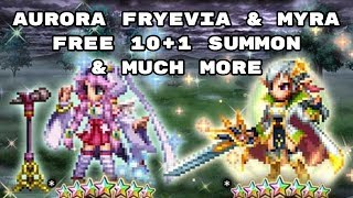 Aurora Fryevia Coming Out & More - [FFBE] - Final Fantasy Brave Exvius