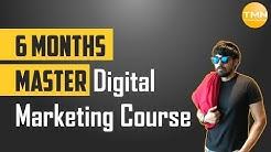 6 months Master Digital Marketing Course