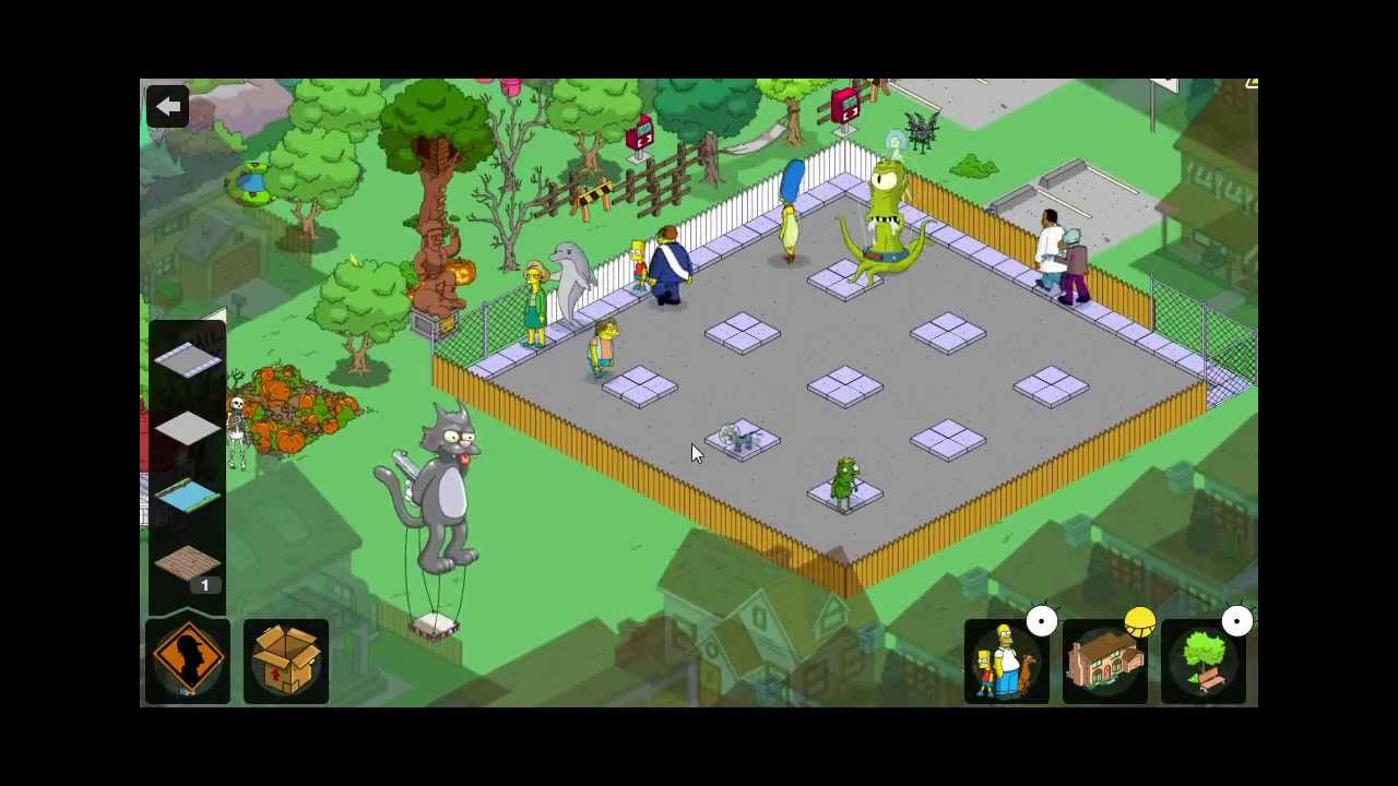 Plays - Simpsons Tapped Out - High efficiency town layout - YouTube
