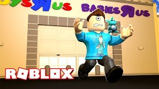 ESCAPE TOYS R US OBBY IN ROBLOX! (Auch Fashion Famous lol) | MicroGuardian