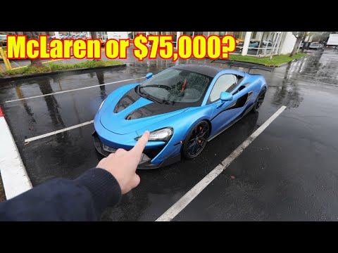 Did the Winner Take the $75,000 or the McLaren 570s?