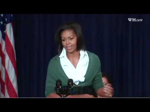 First Lady: Health Insurance Reform as a Womens Issue