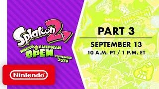 Splatoon 2 NA Open September 2020 - Finals - Part 3