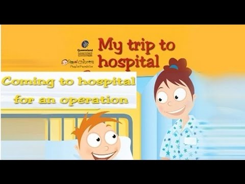 My Trip to Hospital - Coming to hospital for an operation