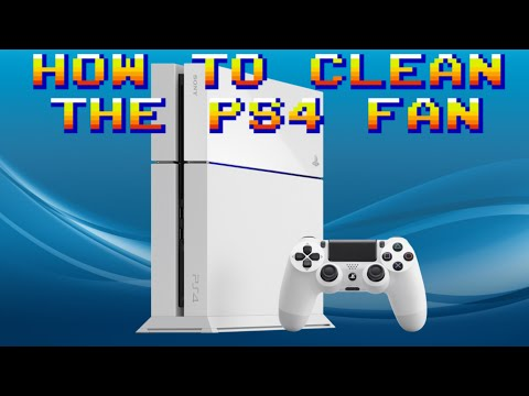 How To Clean The Dust Out Of A PS4