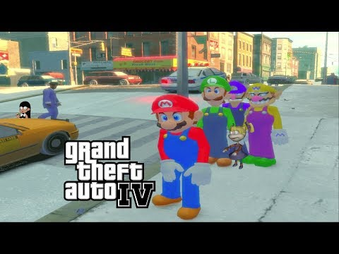 GTA IV - Super Mario Pack Mod Showcase [2160p]