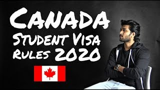 Gambar cover Canada Student VISA Rules 2020 - Good News