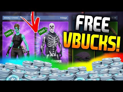 FORTNITE BATTLE ROYALE - HOW TO GET UNLIMITED V-BUCKS & ANY ITEMS FOR FREE (GLITCH)