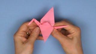 Tuto origami: Grue traditionnelle