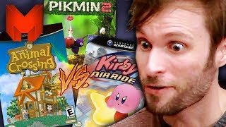 The BEST GameCube Games? Animal Crossing vs Kirby Air Ride vs Pikmin 2 - Madness