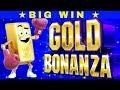 Gold Bonanza Slot Machine $6 Max Bet Bonus BIG WIN | GREAT SESSION | MAX BET | Live Slot w/NG Slot
