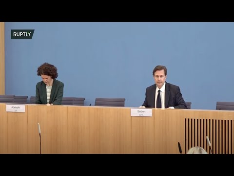 LIVE: German government representatives hold press briefing in Berlin (ORIGINAL)