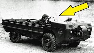 Почему на этом советском вездеходе ездили лежа?