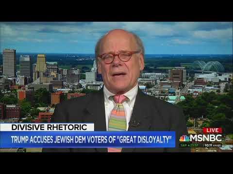 Democratic congressman evokes Hitler and Mussolini to condemn Trump 'disloyal' comments