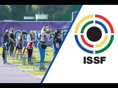 Trap Women Junior Final - 2017 ISSF World Championship Shotgun in Moscow (RUS)