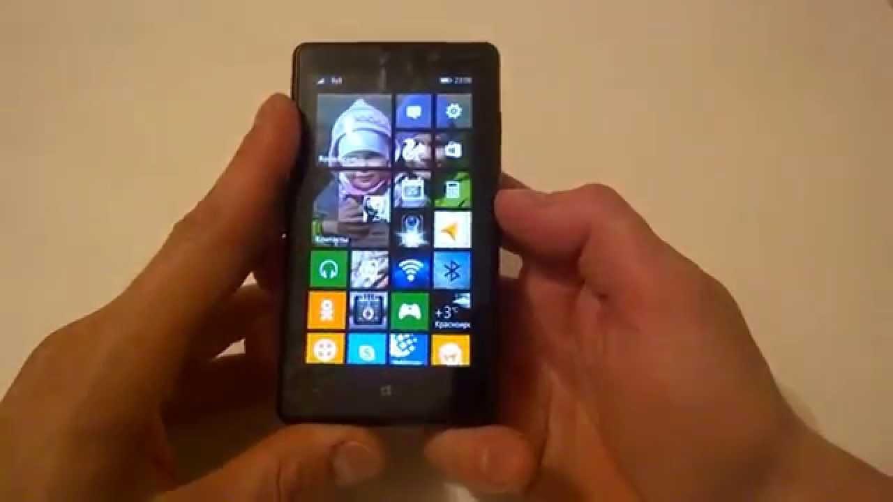 Как создать скриншот на телефонах Нокиа Люмия 28