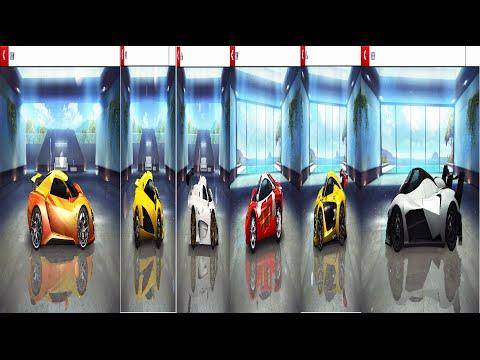XP-5 VS TRION VS Renault VS HTT VS Super GT VS Egoista