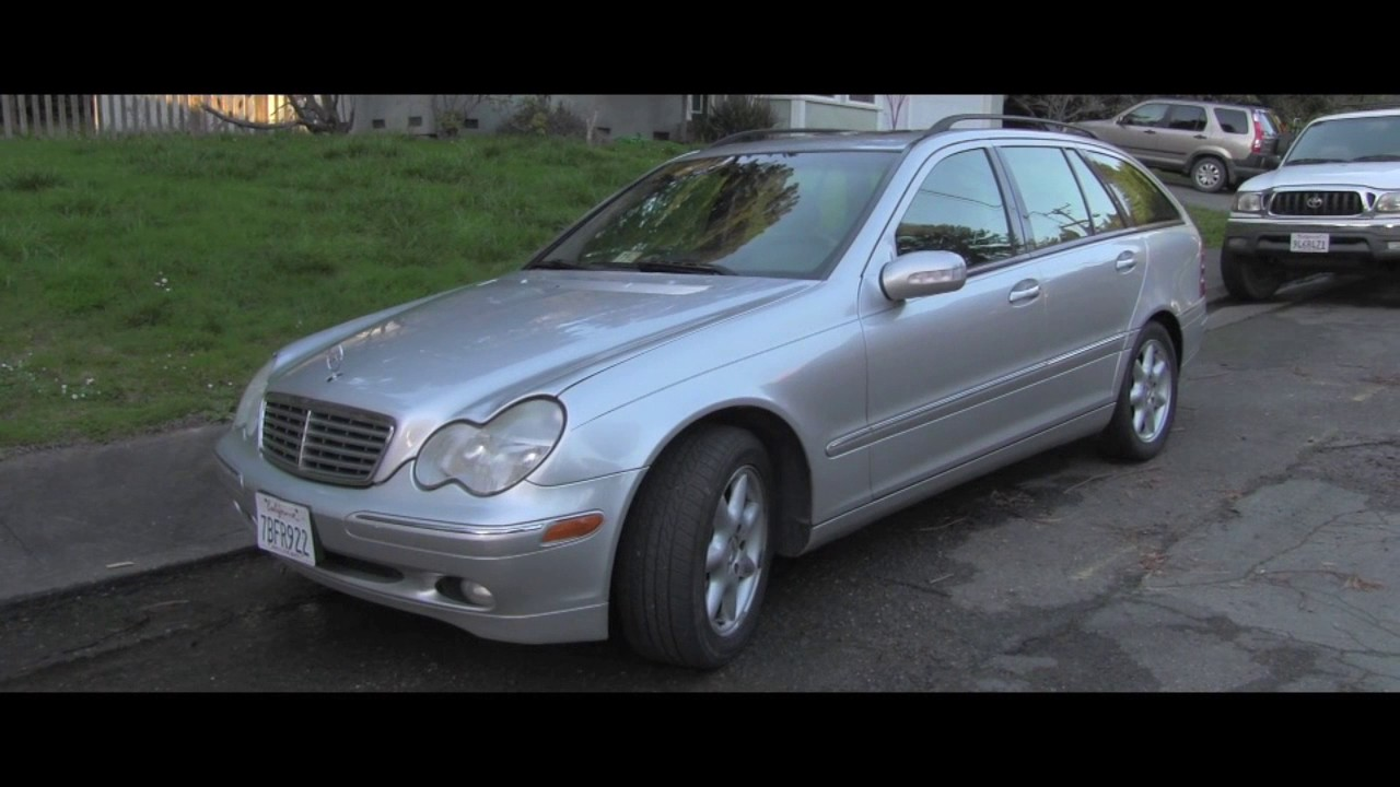 medium resolution of 2004 mercedes c240 wagon with transmission problem