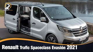 Renault Trafic Spaceclass Evasión 2021 EL MODELO MAS AVENTURERO Y EQUIPADO DE LA MARCA FRANCESA