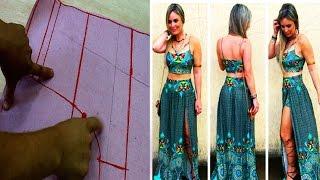 Modelagem Short Saia Longa com Fenda por Jonatas Verly