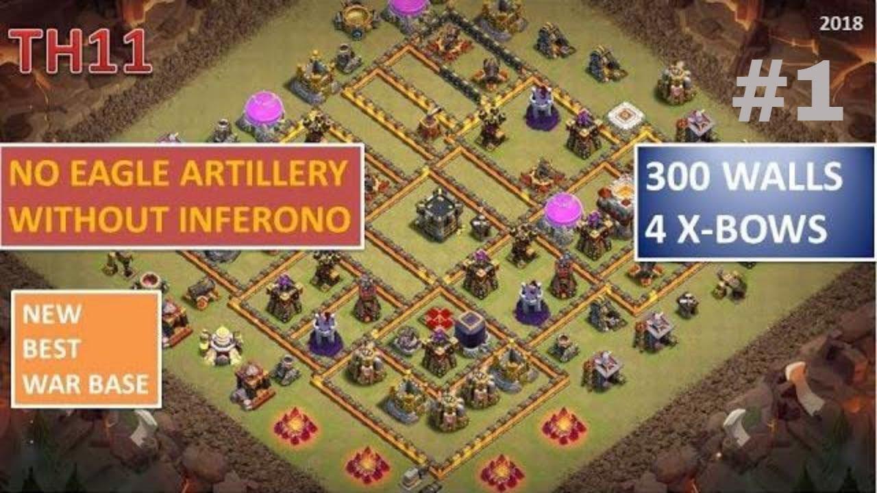 Base War Th 11 Tanpa Eagle Dan Inferno 4