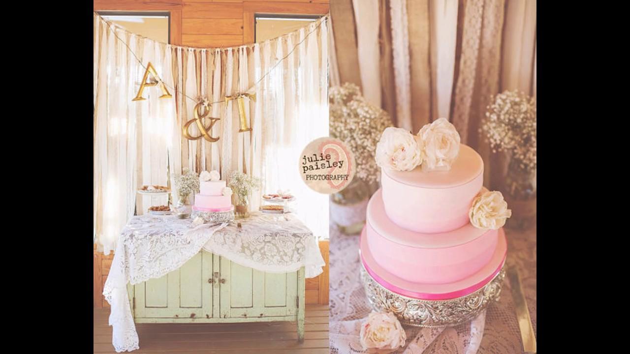 Ideas de decoraci n de boda tel n de fondo youtube - Decoracion facil y barata ...