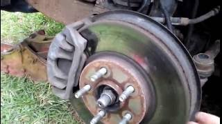Brake petal massage/pulsating when stopping....what it means and how to fix it!