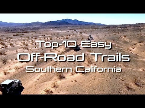 Easy Off Road 4X4 Trails In Southern California